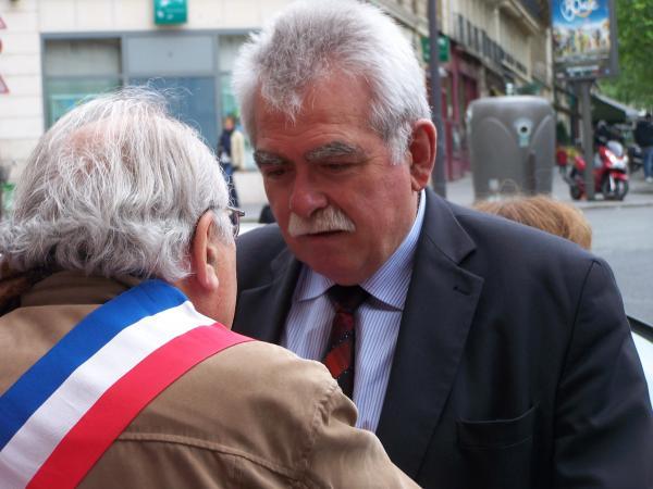 ANDRE CHASSAIGNE, DEPUTE PCF-FRONT DE GAUCHE, PRESIDENT DU GROUPE