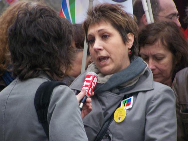 BERNADETTE GROISSON SECRETAIRE GENERALE DE LA FSU